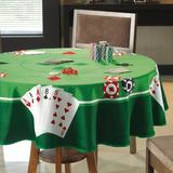 Toalha De Mesa Redonda P/ Jogos Cartas Poker Truco Baralho