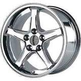 Rin Tipo Cobra Cromados 17x10.5 Y 17x9 Ford Mustang 5x4.5
