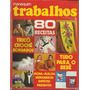Revista Manequim 1974 Trabalhos Infantil Tricô Croche Nº171a