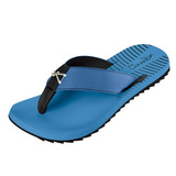 Sandália Masculina Kenner Kivah Neo Silver Chrome Azul