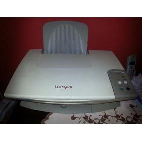 Multifuncional Scanner Impressora Lexmark X1250 Jato Detinta