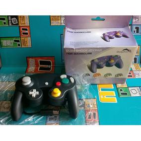 Control Negro Pa Consola Gamecube Dolphin Retro Nuevo