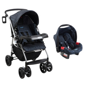Carrinho Travel System At6 K Touring Bike Netuno - Burigotto