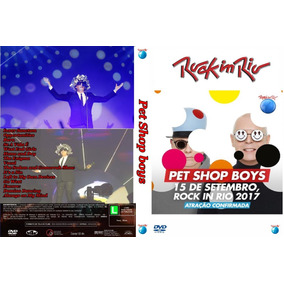 Dvd Pet Shop Boys E Tears For Fears Rock In Rio 2017