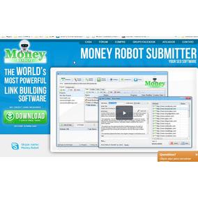Money Robot 7.31 Cria Contas Auto E Postagem Manual