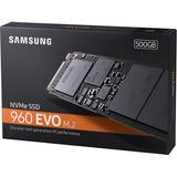 Ssd Samsung 960 Evo Nvme 500gb Pci M.2 2280mm