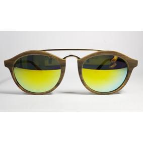 38088b2544 Gafas Anteojos De Sol Espejados Acetato Trendy Con Barra