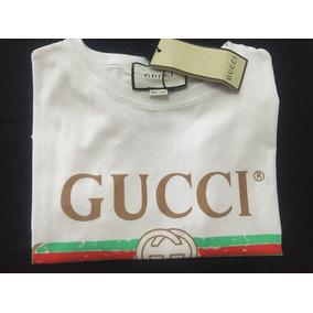 Gucci Original Feminina Roupa - Camisetas para Feminino no Mercado ... 2fbe924779751