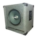 Bafle C/ Woofer Graves 15 Potencia 400 W Rms Sonido Dj