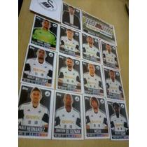 Figurinhas Premier League 2014 Swansea City Completo