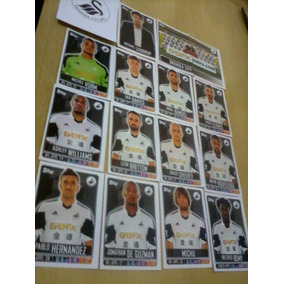 Figurinhas Premier League 2014 Swansea City Completo
