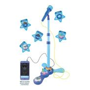 Microfono Karaoke De Pie Dos Surtidos Nena O Varon