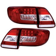 Lanterna Led Esportiva Toyota Corolla 2012 A 2014 Bi-color