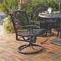 Home Style Silla Mecedora Biscayne / Giratorio Exterior De