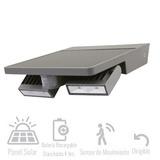 Lampara Con Doble Dirigible Con Celda Fotovoltaica 4w Tl
