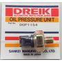 Valvula (bulbo) Presión Aceite Isuzu 4bd1 4bd1t 6bd1 6bd1t