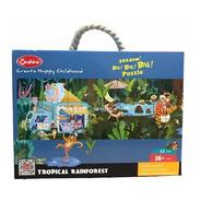 Puzzle Jumbo 48pcs - Bosque Tropical