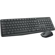Teclado + Mouse Inalambricos Logitech Mk235 Garantia Oficial