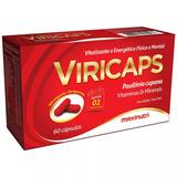 Viricaps 60cps - Estimulante Forte - Maxinutri