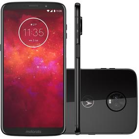 Smartphone Motorola Moto Z3 Play Xt1929/o 128gb Onix