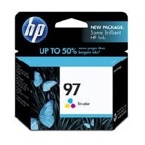 Cartucho De Tinta Hp 97 Tricolor Hasta 560 Paginas C9363wl