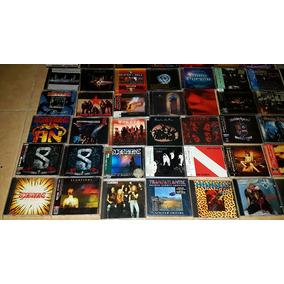 Cds Discos Kiss Scorpions Ac/dc Megadeth Maiden Metallica