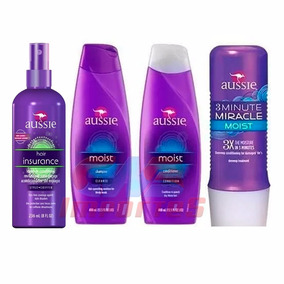 Kit Aussie Shampoo Cond 3 Minute Miracle + Insurance