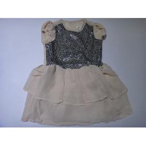 Lindo Vestido Infantil Carinhoso C/ Estampa De Oncinha!