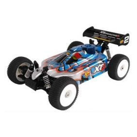 Xtm Cars Xt2 1/8 Rtr Nitro Buggy W/mx-sport 2.4g Radio 14562