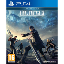 Final Fantasy Xv Ps4 Midia Física Lacrado - Pré-venda