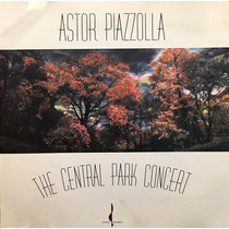 Cd Astor Piazzolla The Central Park Concert