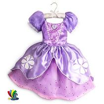 Princesita Sofia Original Disney Store Disfraz Vestido 2016