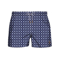 Retromarine Traje Baño Short Interwined Blue Caballero Playa
