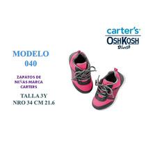 Hermosos Zapatos Carters Y Oshkosh Originales Desde