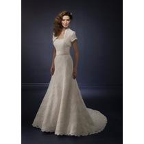 Promocion Vestido De Novia Importado Nuevo Talle6.8 En Stock