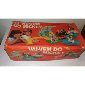 Vai E Vem Do Mickey Da Estrela Na Caixa Antigo Anos 80