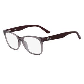 Armaçao De Oculos Feminino Armacoes Lacoste - Óculos no Mercado ... 85c225c34d