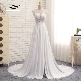 Vestido De Noiva Longo Princesa Renda Tomara Que Caia