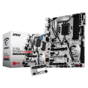 Placa Msi Z170a Xpower Gaming Titanium