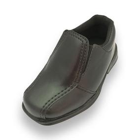 Sapato Sapatinho Social Infantil Masculino Couro Sintético