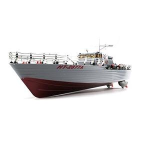 Buque De Guerra Ht-destructor De Control Remoto Rc Barco 01