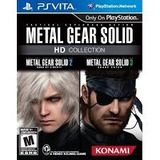 Metal Gear Hd Collector Vita Game Sport Chile