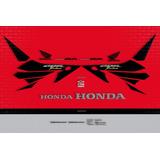Kit Adesivo Honda Cbr 1000rr 2004 Vermelha 10004 Fireblade