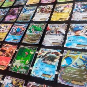 Lote 500 Cartas Pokémon Tcg C/ 2 Ultra Raras Gx, Ex Ou Turbo