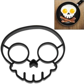 Kitchen Appliance Food Skull Shape Silicone Egg Frying Ring