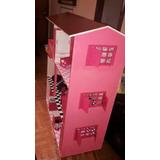 Casa Para Muñeca Barbie En Mdf