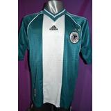 Camiseta Selección De Alemania 1998 Alternativa Verde adidas