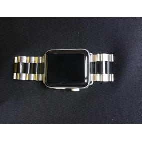 5b670f847c6 Apple Watch Série 3 42mm Lte E Gps Pulseira De Inox A1861