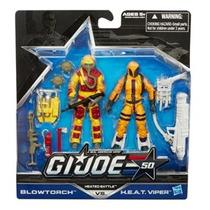 Reloj Gi-joe-real-american Hero Set Figure Amarillo
