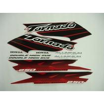 Kit Adesivos Tornado 2003 Vermelha, Frete Grátis !